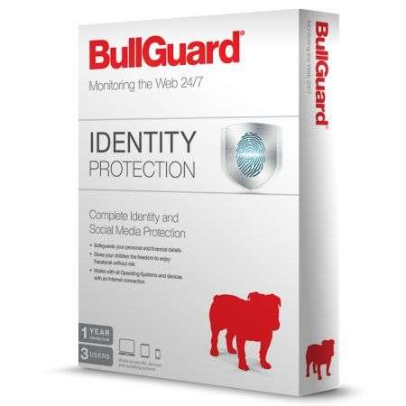 Bullguard Identity Protection (3 Users)