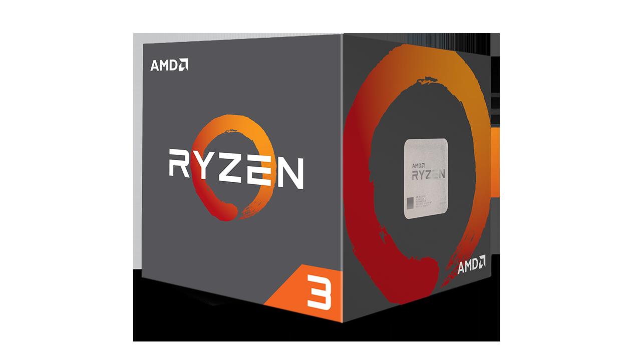 AMD Ryzen 3 1200 3.1GHz Quad Core AM4 Overclockable Processor