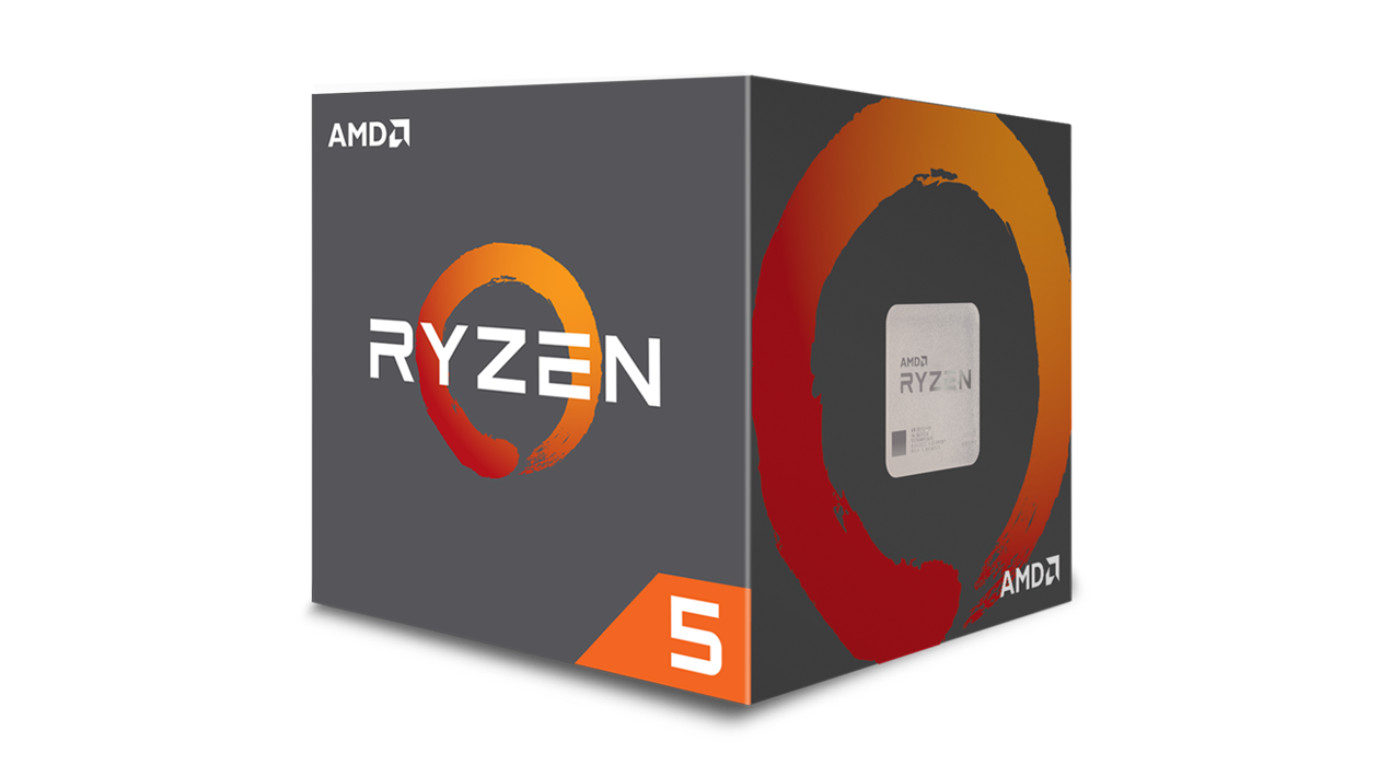 AMD Ryzen 5 1600x 6 Core AM4 3.6GHz 19MB Cache NO Heatsink