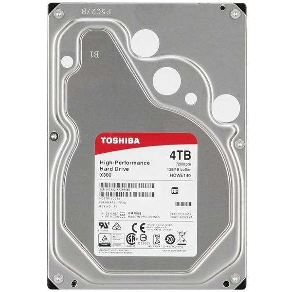 Seagate 4TB 3.5″ HDD
