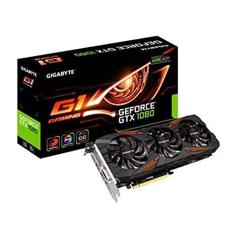 Gigabyte GeForce GTX 1080 G1 Gaming Windforce 8GB GDDR5X