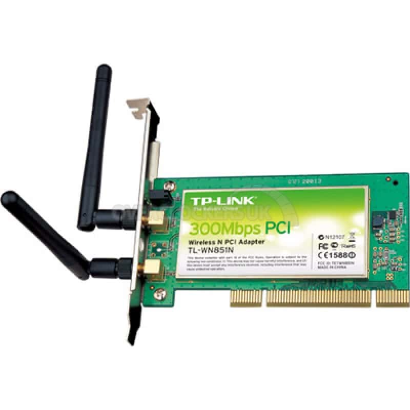 TP-Link Wireless PCI card 300Mbps (TL-WN851N)