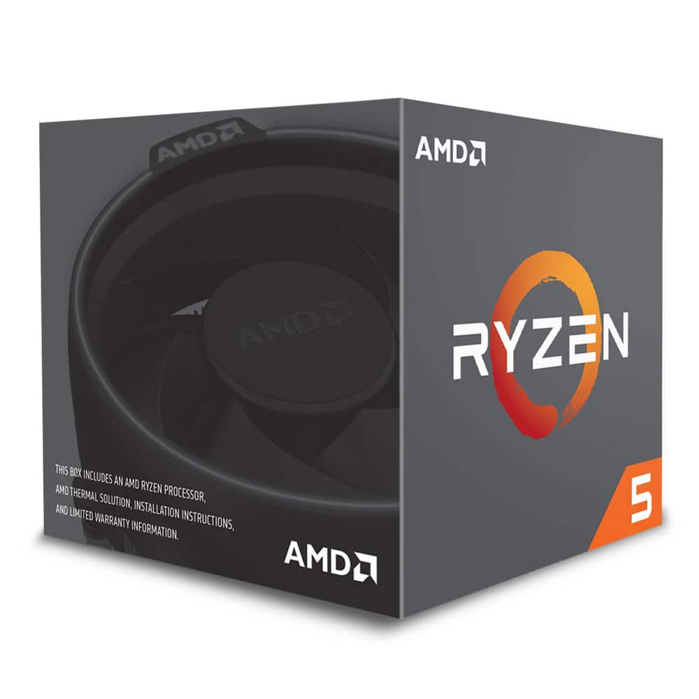 AMD Ryzen 7 2700 CPU Wraith Cooler, AM4, 3.2GHz (4.1 Turbo), 8 Core, 65W, 20MB Cache, 12nm, RGB Lighting, No Graphics
