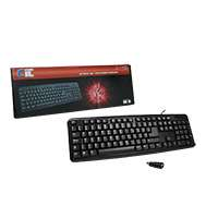CiT KB-2106 USB/PS2 Combo Keyboard – Black
