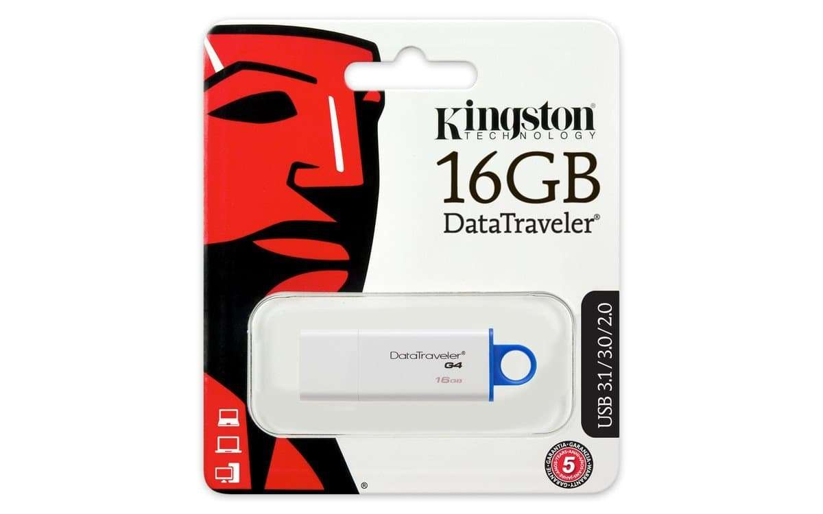 Kingston 16GB USB 3.0/2.0 DataTraveler G4