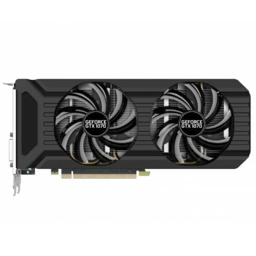 Palit GeForce GTX 1070 Dual, 8GB GDDR5, DVI, HDMI, 3 DP