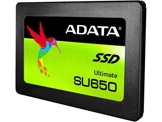 Adata 480GB SU650 2.5 SATA III SSD Read/Write 520/320MB/s