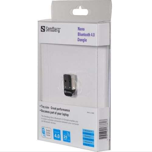 Sandberg – (133-81) Bluetooth 4.0 Nano USB Dongle