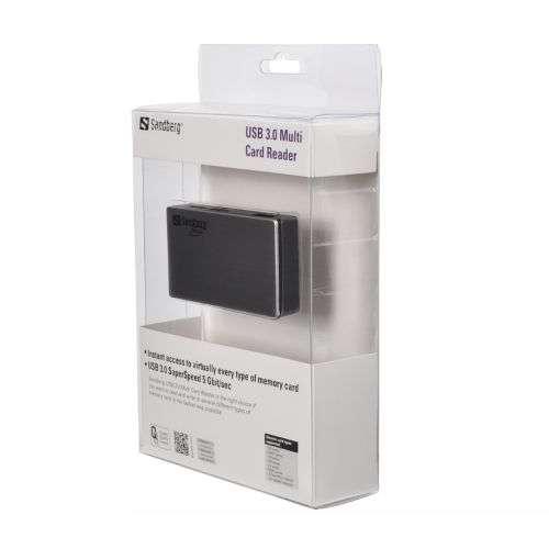 Sandberg – External USB 3.0 Card Reader