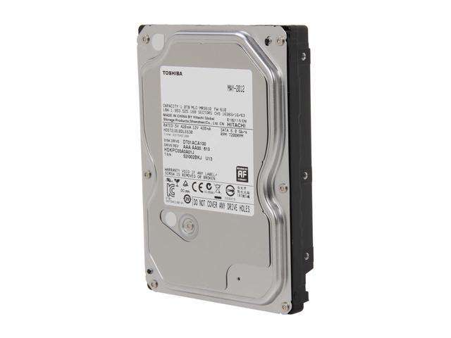 Toshiba – 1TB SATA III 7200RPM 64 MB Cache