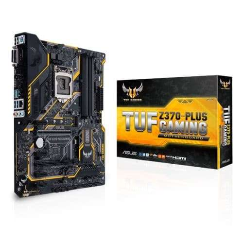Asus TUF Z370-Plus Gaming LGA 1151, ATX, 64GB DDR4, 4 DIMM, HDMI, DVI