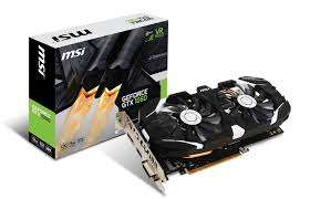 MSI GeForce GTX 1060 3GB GDDR5 OC