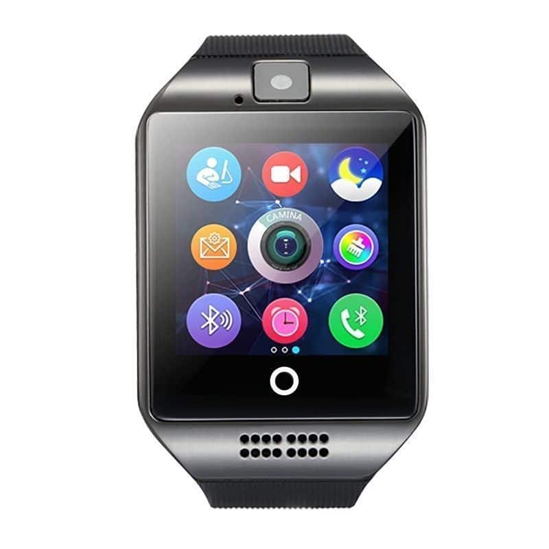 DZ09 Smart Watch Phone Bluetooth Apple & Android Compatible GT08 Q18 Black
