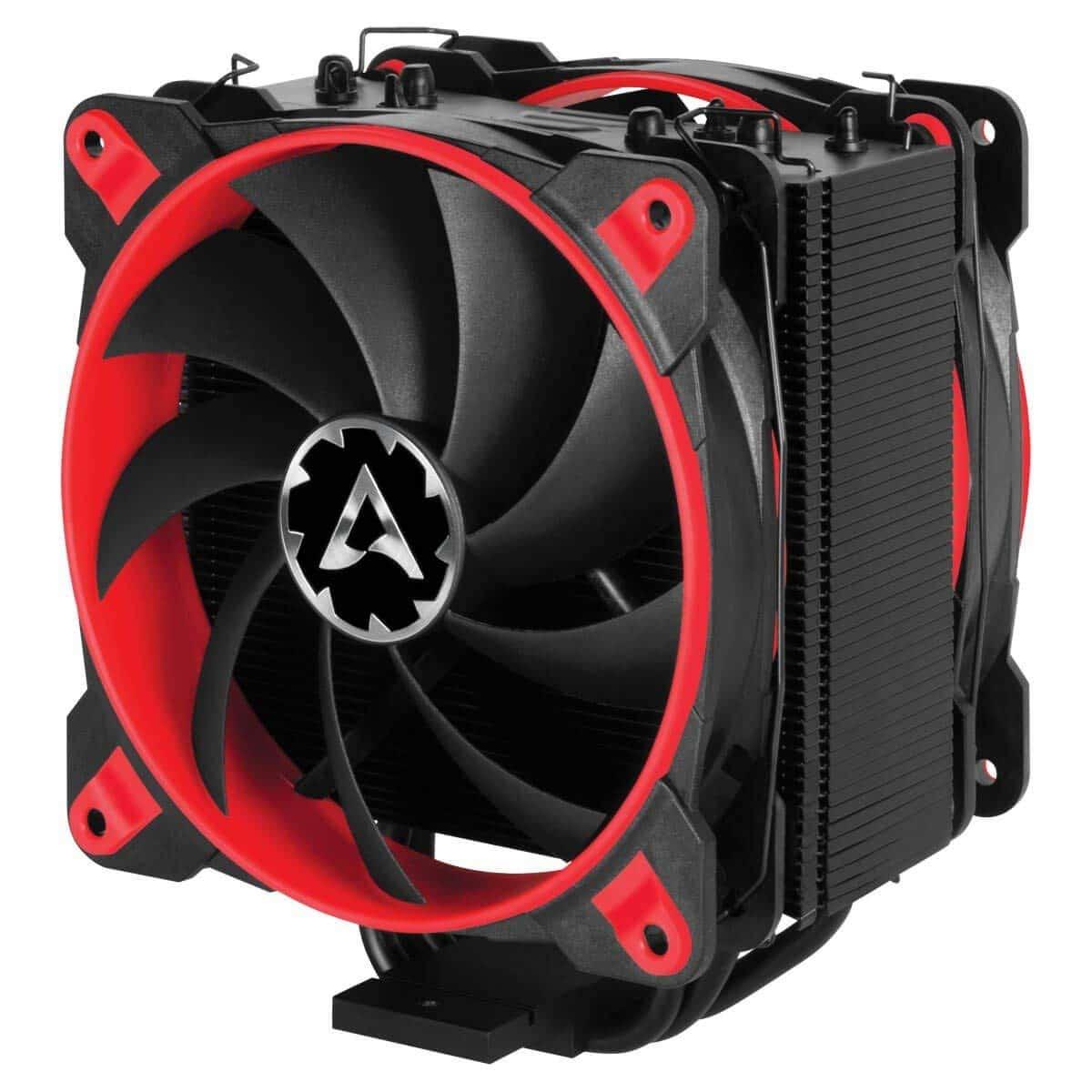 Arctic 33 eSports ONE Edition Heatsink & Fan, Black & Red, Intel & AMD Sockets, Bionix Fan, Fluid Dynamic B