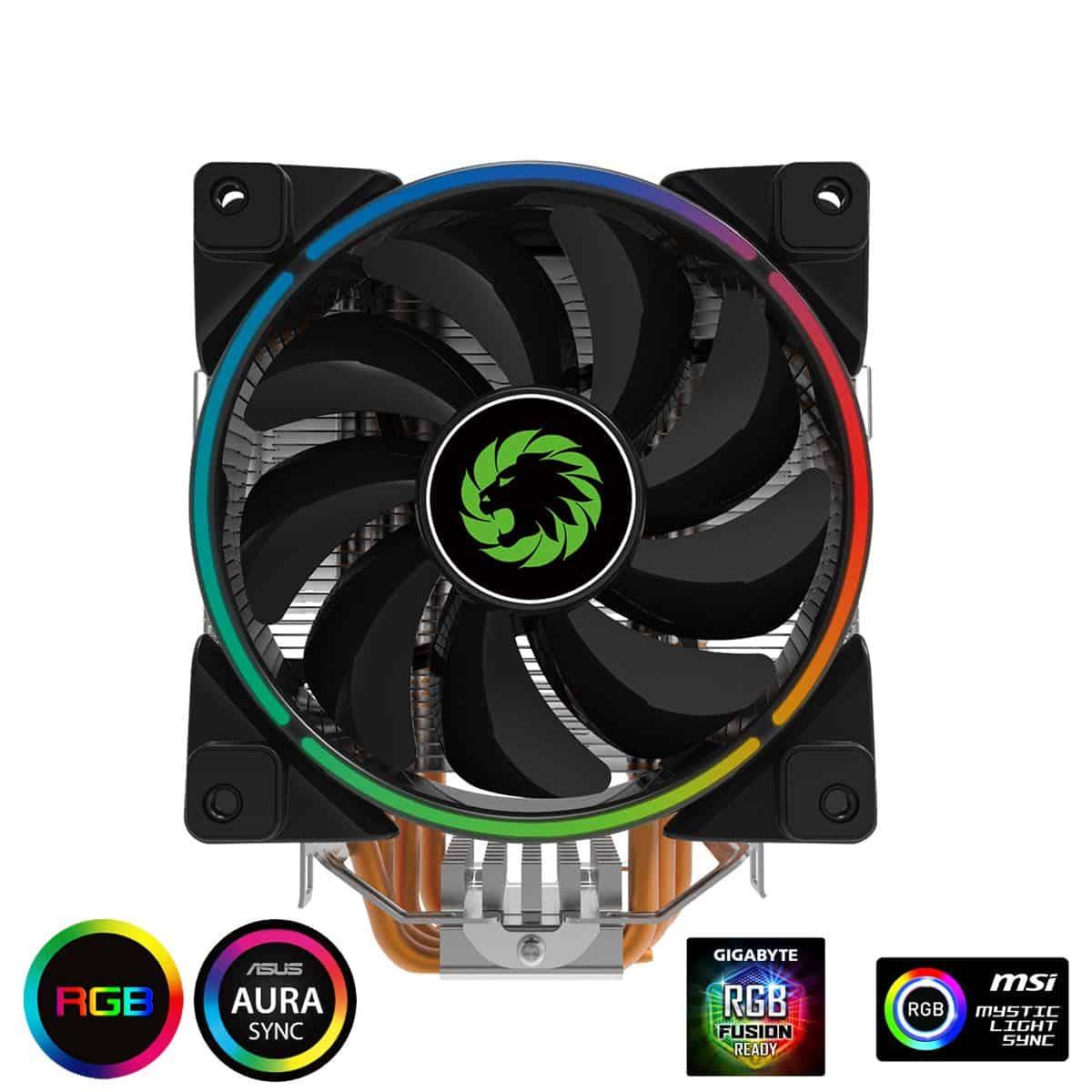 Game Max – Gamma 500 RGB CPU Cooler Asus, MSI compatible
