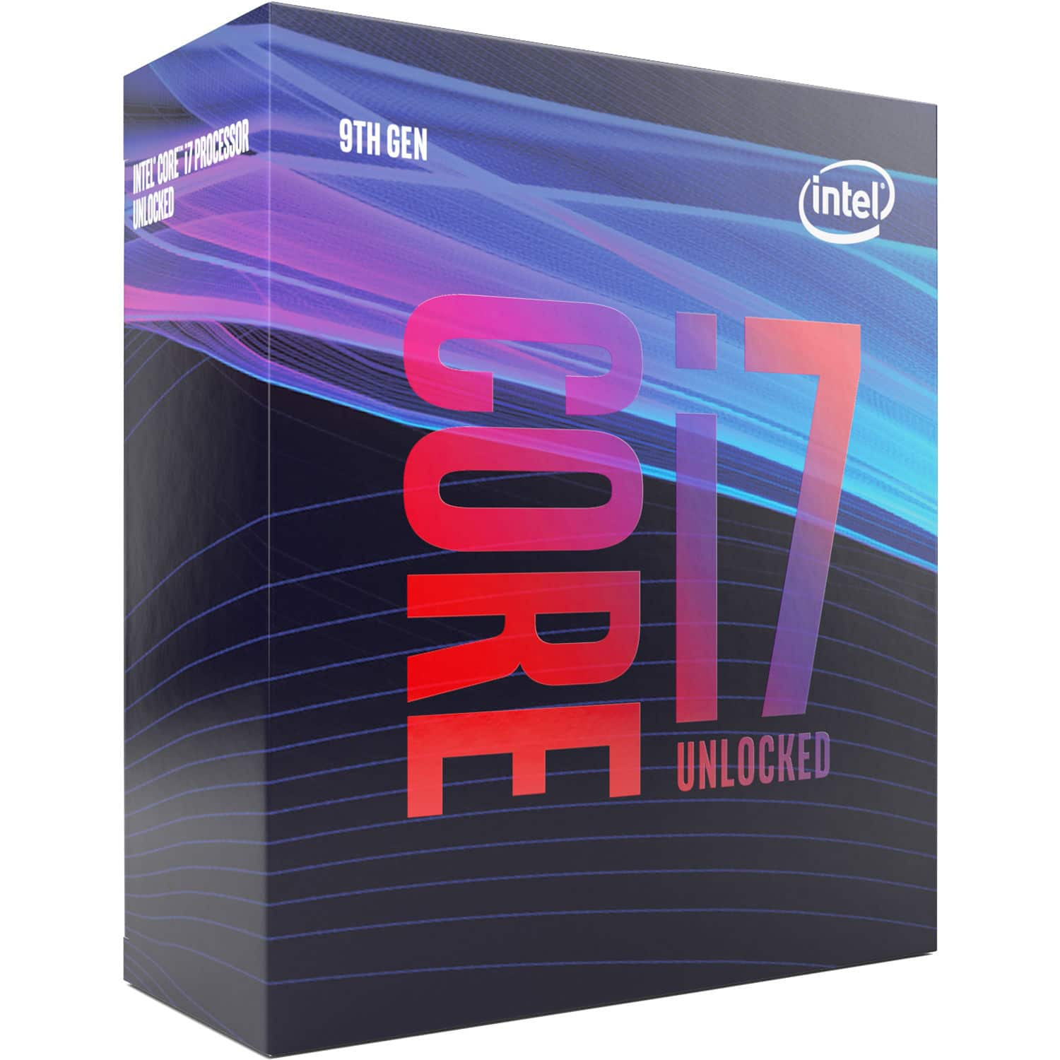 Intel Core i7 9700K Unlocked 9th Gen