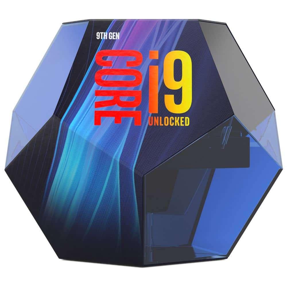 Intel Core I9-9900K CPU, 1151, 3.6 GHz (5.0 Turbo), 8-Core, 95W, 14nm, 16MB, Overclockable, NO HEATSINK/FAN