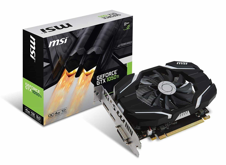 MSI – GeForce GTX 1050ti 4GB GDDR5 LP