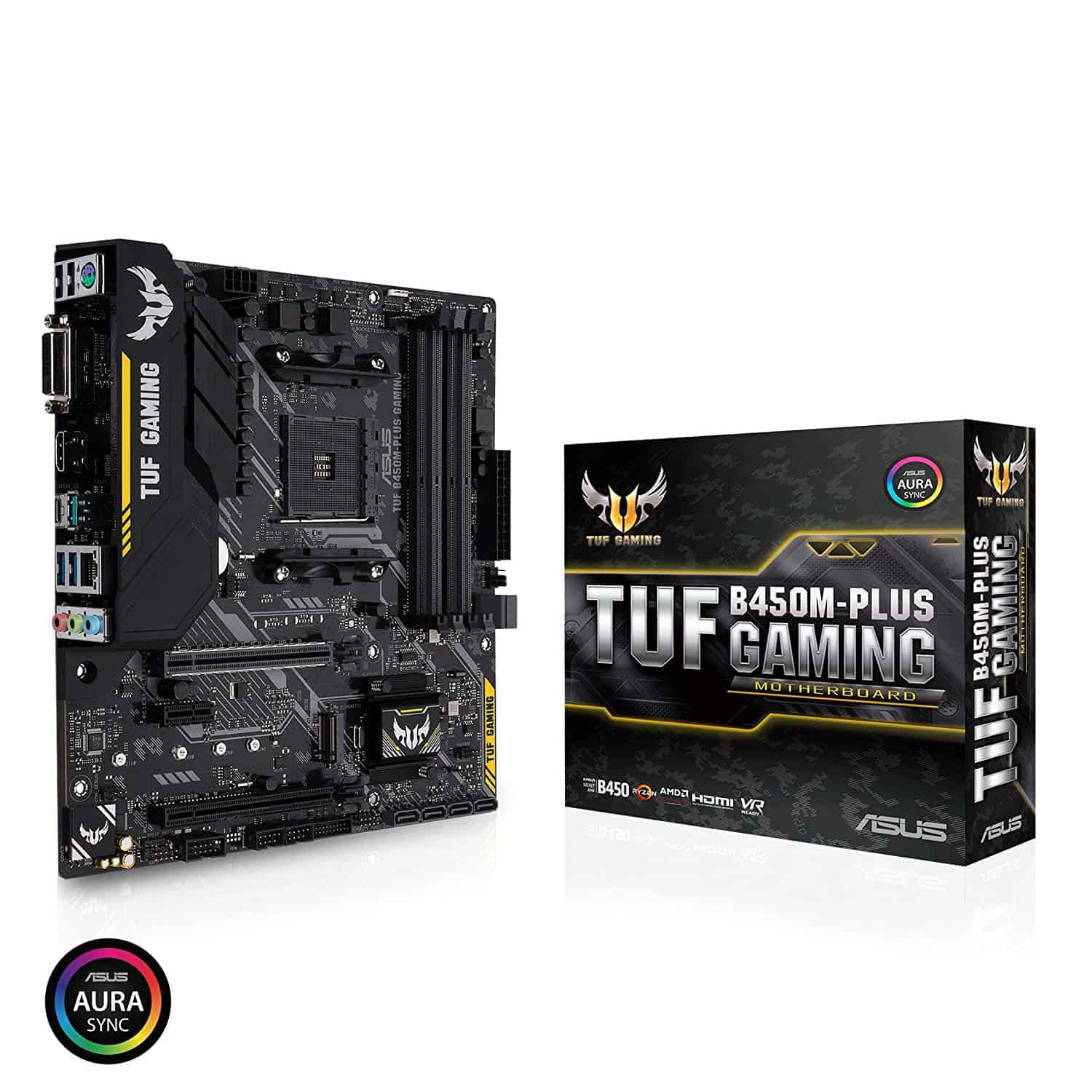 ASUS – TUF B450M-PLUS Gaming