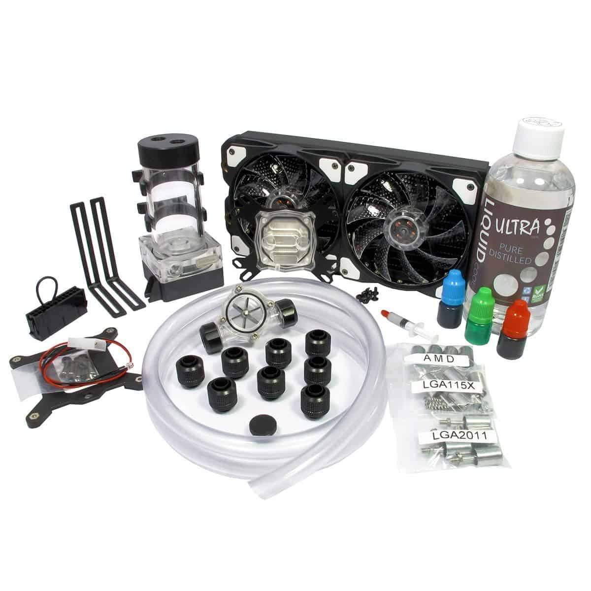 Game Max Vortex One Advanced DIY 240mm Water Cooling Kit