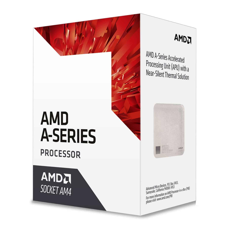 AMD – A8 X4 9600 CPU, AM4, 3.1GHz (3.4 Turbo), Quad Core, 65W, 2MB Cache, 28nm