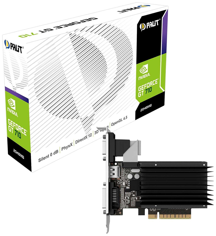 Palit GeForce – GT 710 Silent 2GB GDDR3