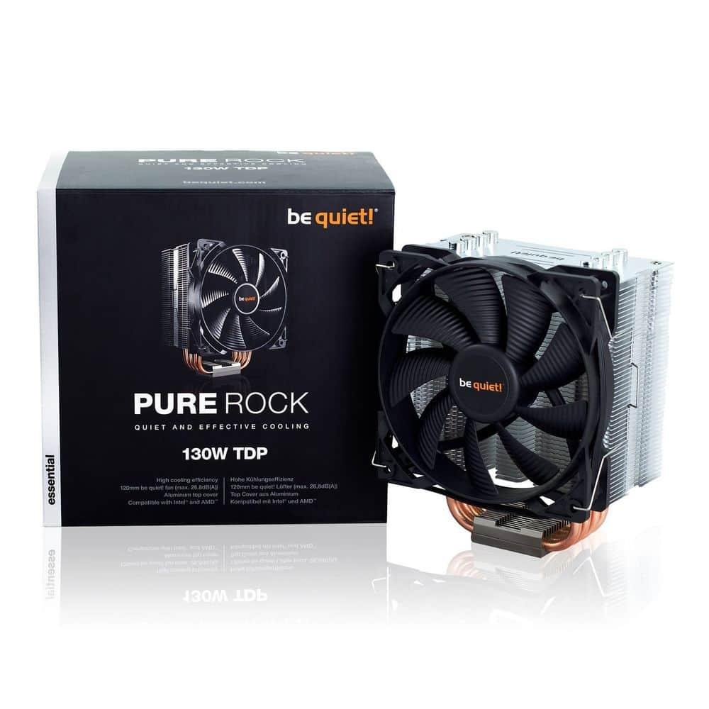 BK009 Pure Rock Heatsink & Fan, Intel & AMD Sockets, 120mm PWM Fan