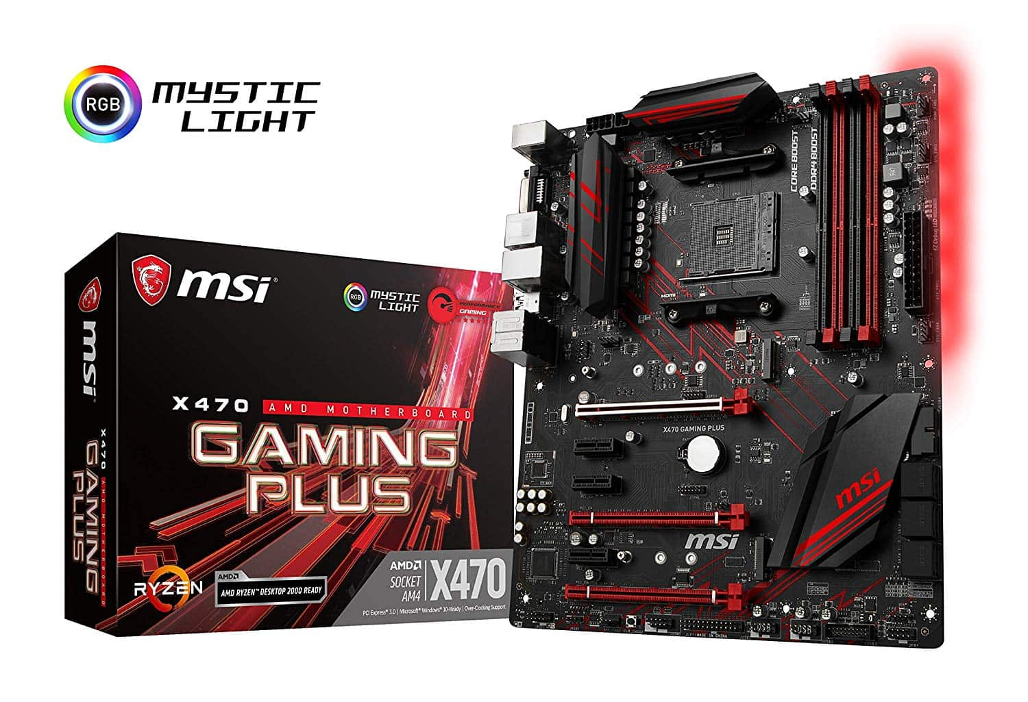 MSI – X470 Gaming Plus