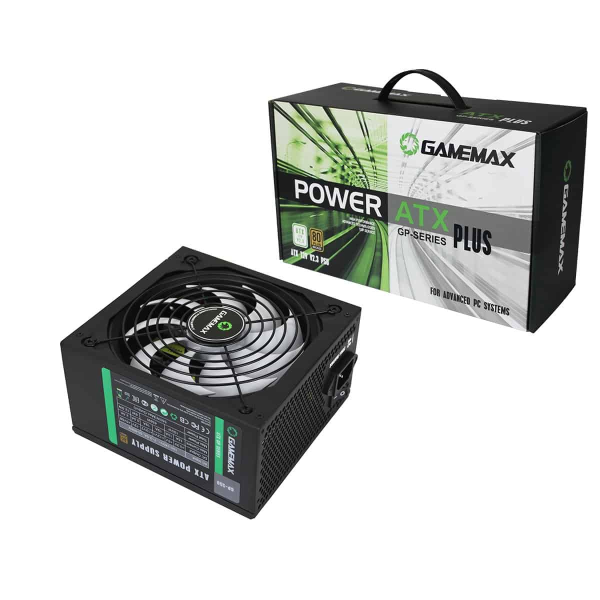 Game Max – GP550 550W 80 Plus Bronze PSU