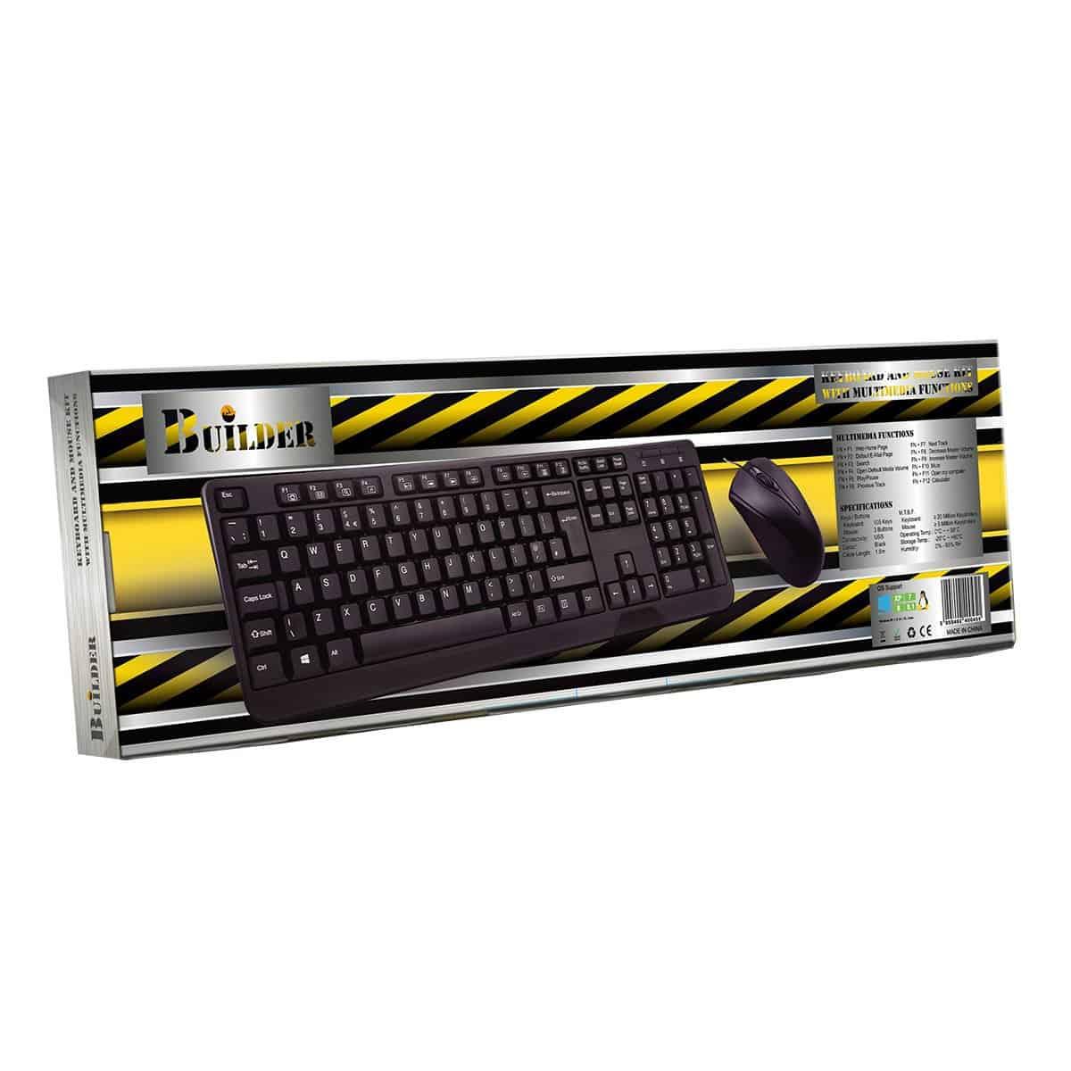 CiT – Builder Wired RGB Gaming Keyboard