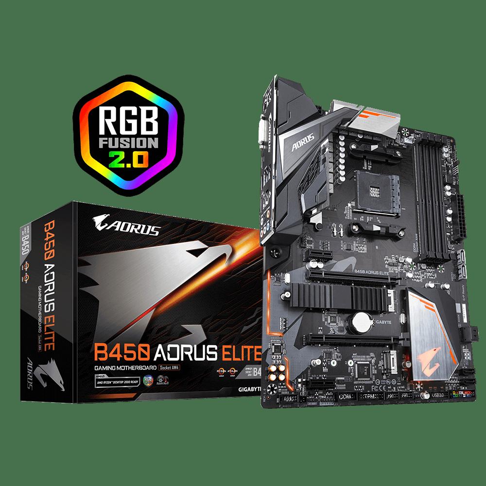 Gigabyte – B450 Aorus Elite