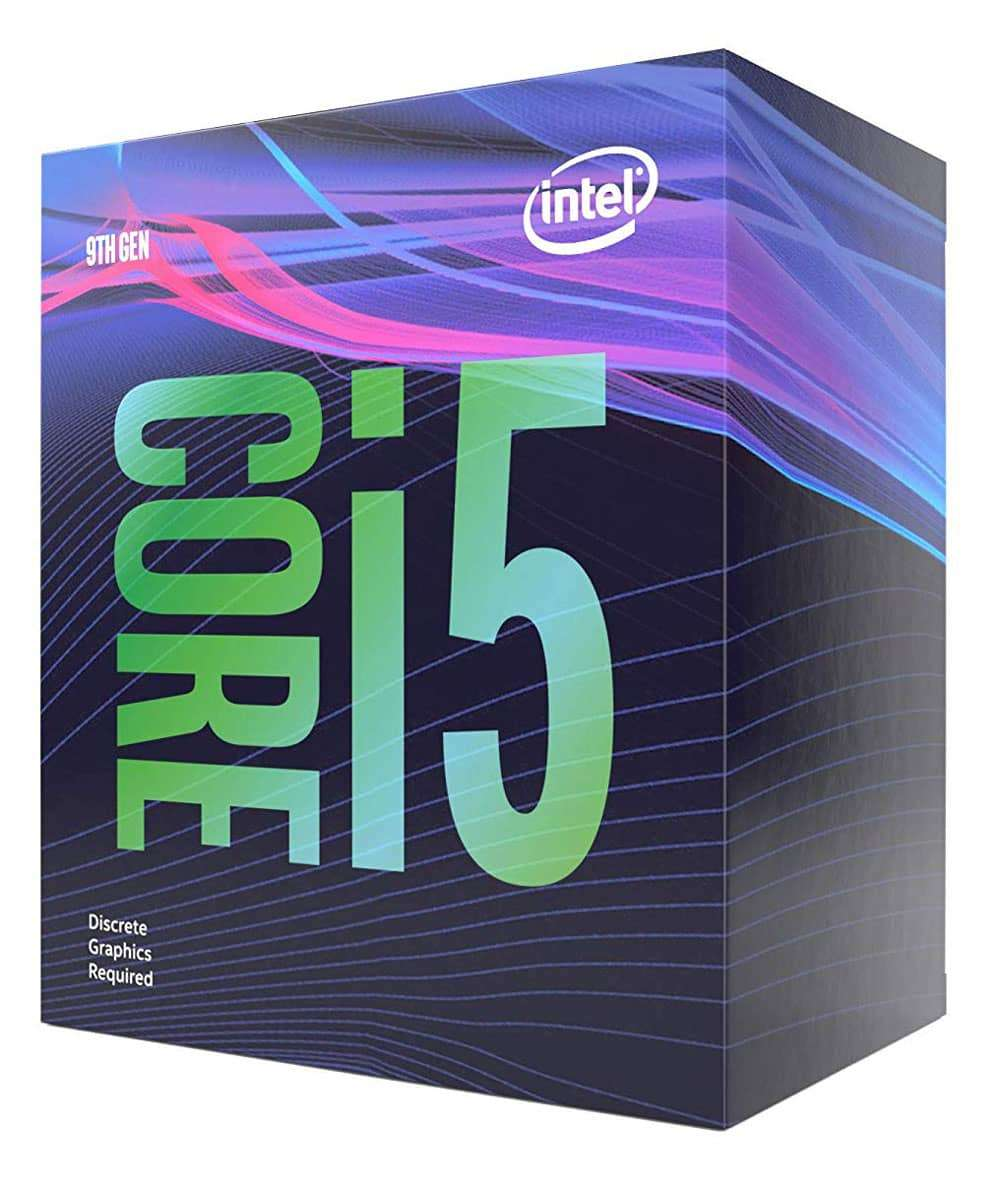 Intel Core i5-9400F CPU, 1151, 2.9 GHz (4.1 Turbo), 6-Core, 65W, 14nm, 9MB Cache, Coffee Lake Refresh