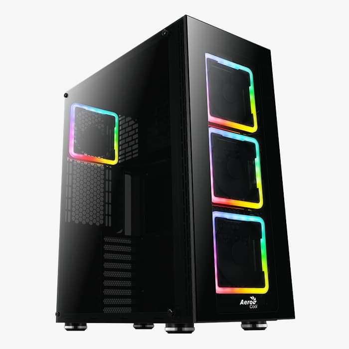 Aerocool – Tor Pro full tower square RGB fans