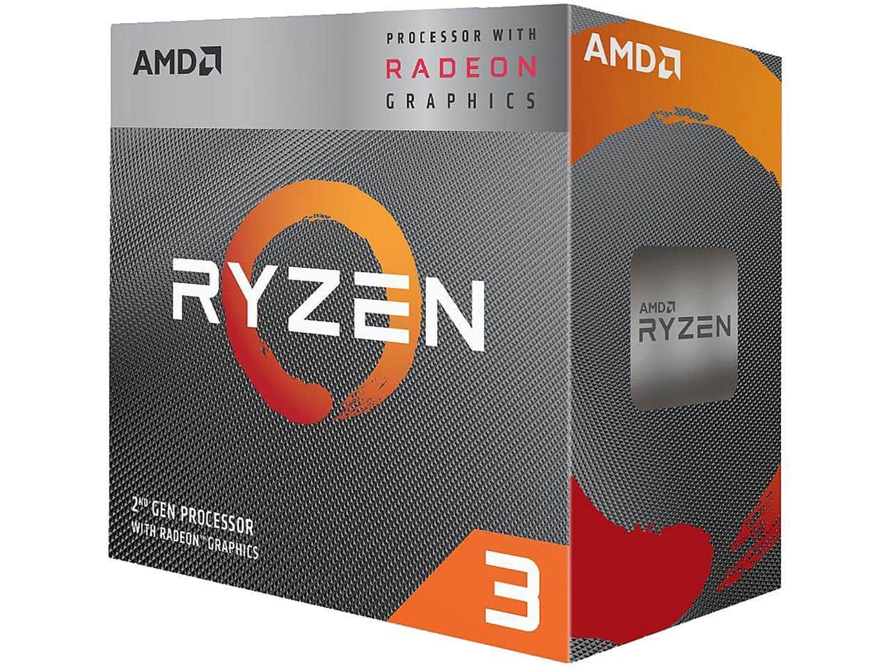 AMD – Ryzen 3 3200G Skt AM4 RX Vega 8 Graphics, Wraith Stealth Cooler