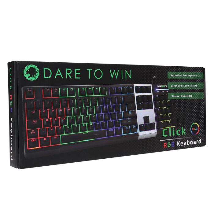 Game Max – Click – Mechanical Feel RGB Keyboard
