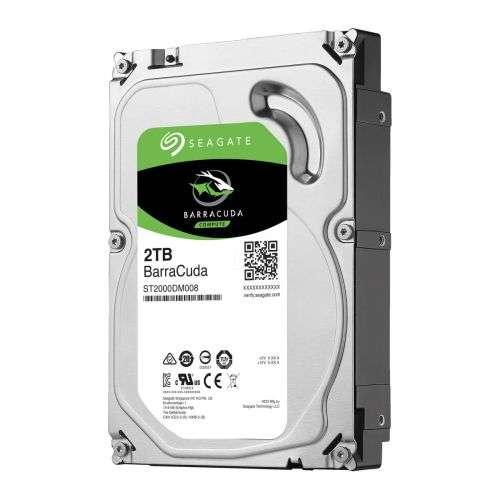 Seagate BarraCuda 3.5″ Hard Drive 2TB