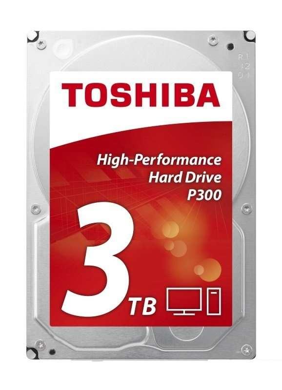 Toshiba 3.5″ SATA3, P300, 7200RPM, 64MB Cache Hard Drive 3TB
