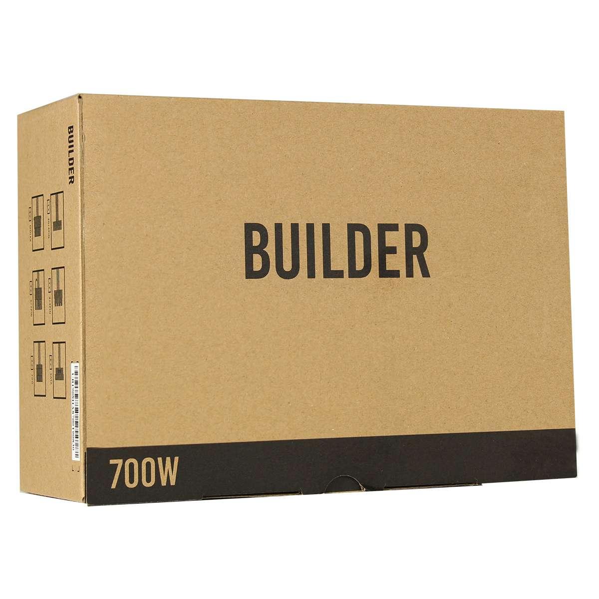 700W Builder PSU PPFC 6xSata 1xPCIE6+2 4+4pin