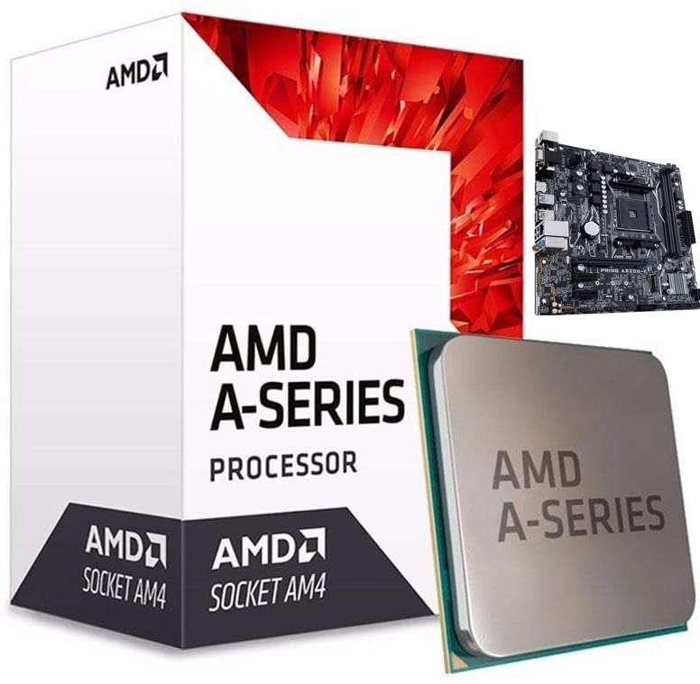 Motherboard, Processor & RAM Bundle – ASUS Prime A320M-K, AMD A10-9700 & 8GB DDR4 Corsair RAM