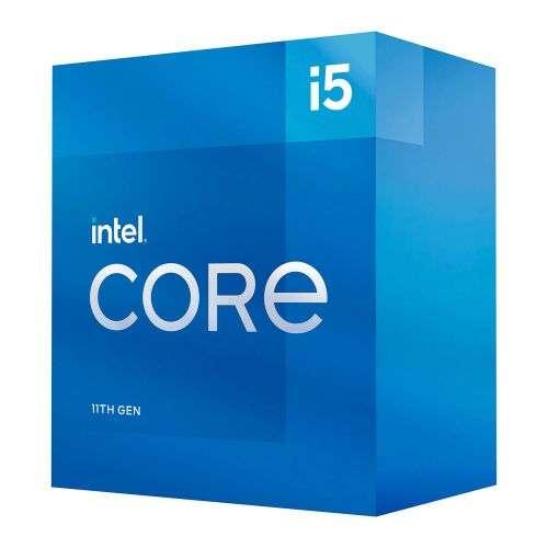 Intel Core i5-11600 CPU, 1200, 2.8 GHz (4.8 Turbo), 6-Core, 65W, 14nm, 12MB Cache, Rocket Lake