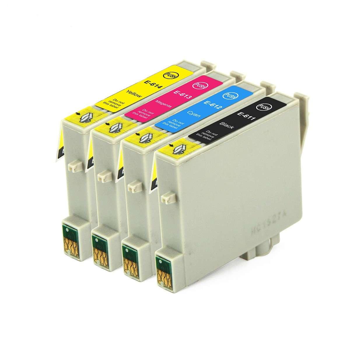 Epson Multipack Ink Cartridges (T0611-T0614)