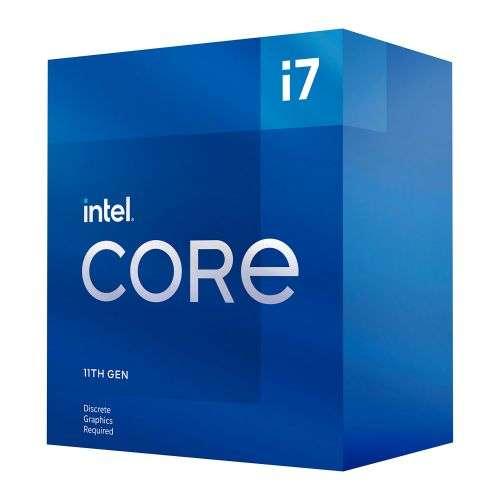 Intel Core i7-11700F CPU, 1200, 2.5 GHz (4.9 Turbo), 8-Core, 65W, 14nm, 16MB Cache, Rocket Lake, No Graphics