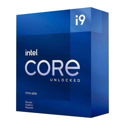 Intel Core i9-11900KF CPU, 1200, 3.5 GHz (5.3 Turbo), 8-Core, 125W, 14nm, 16MB Cache, Overclockable, Rocket Lake, No Graphics, NO HEATSINK/FAN