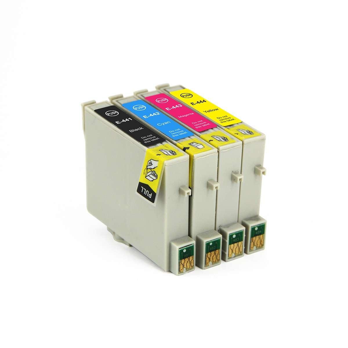 Epson Multipack Ink Cartridges (T0441-T0444)