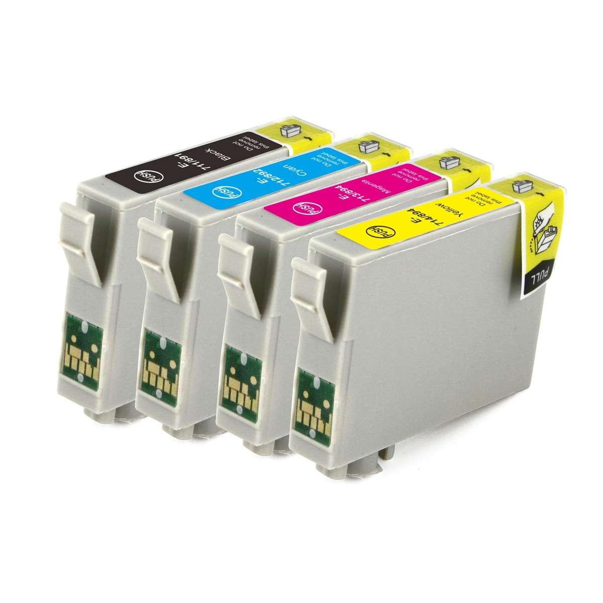 Epson Multipack Ink Cartridges (T0711/891-T0711/894)