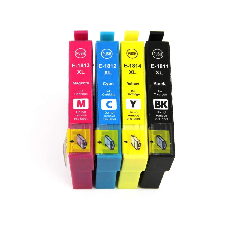 Epson Multipack Ink Cartridges (T1801-4/T1811-4)