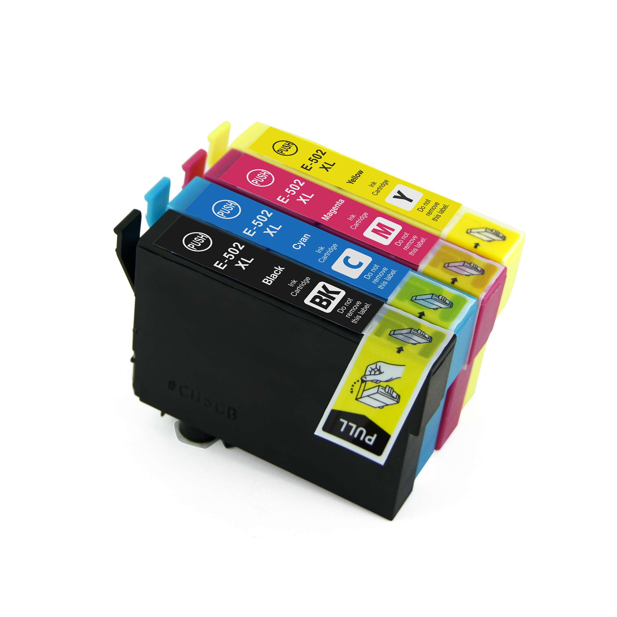 Epson Multipack Ink Cartridges (T502XLBK/T502XLC/T502XLM/T502XLY)