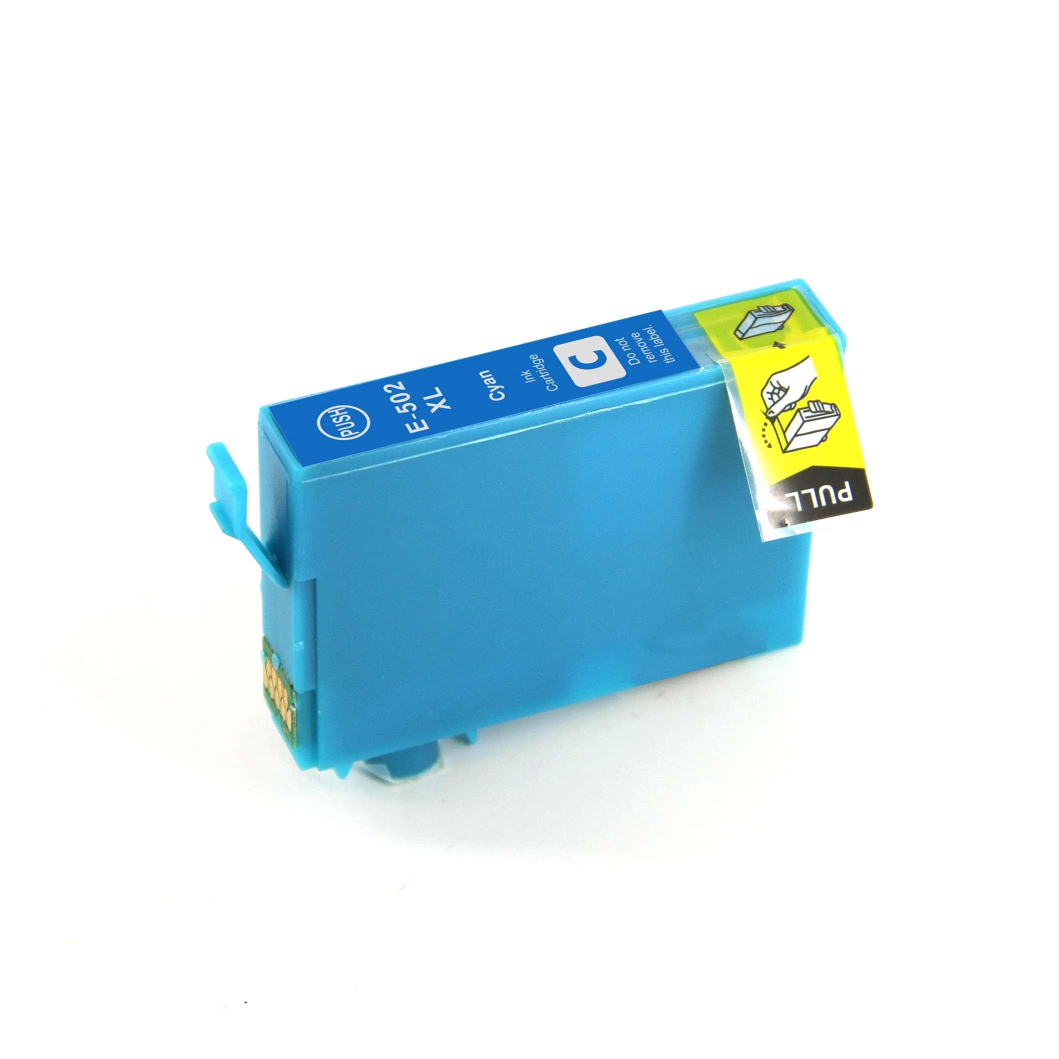 Epson T502XLC Cyan Ink Cartridge