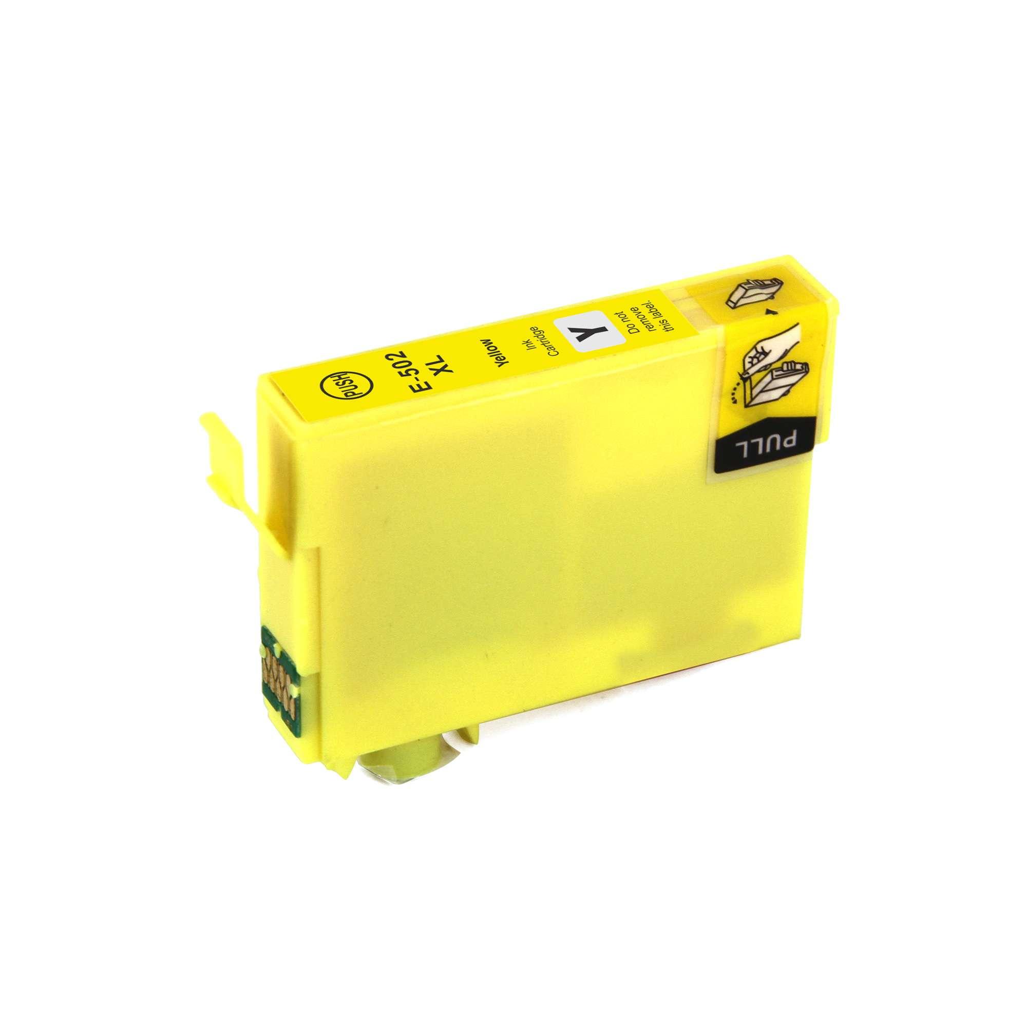 Epson T502XLY Yellow Ink Cartridge