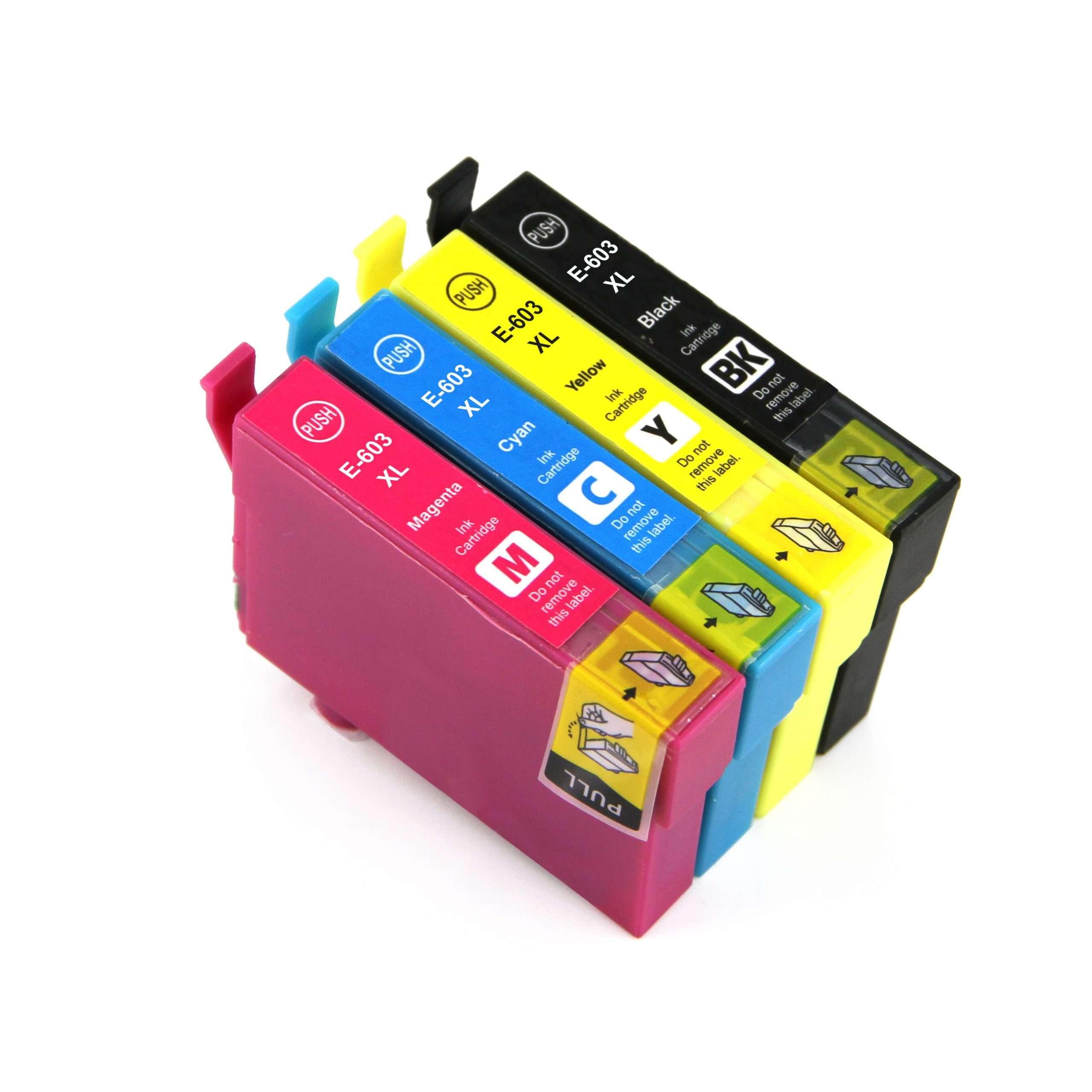 Epson Multipack Ink Cartridges (603XLBK/603XLC/603XLM/603XLY)